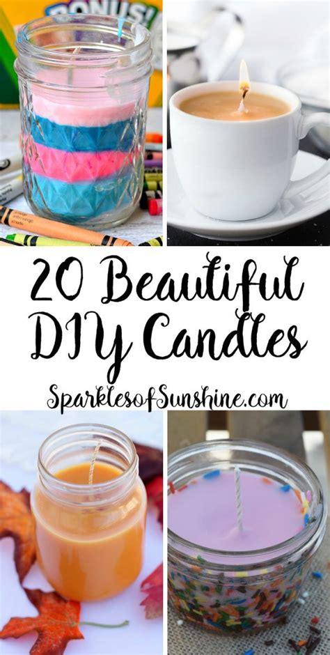 25+ Best Ideas About Diy Candles On Pinterest  Homemade