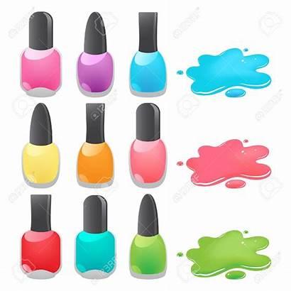 Nail Polish Clipart Manicure Fingernail Vector Paint