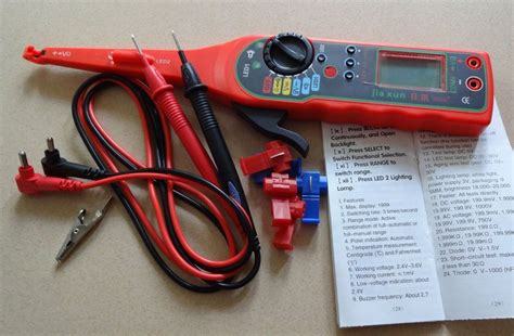 Free Shipping Auto Circuit Detector Tester Led