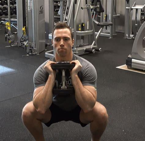 squat goblet dumbbell variations ignorelimits