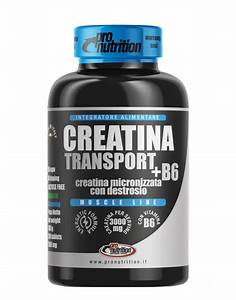 Creatina Transport   B6 By Pronutrition  200 Tablets