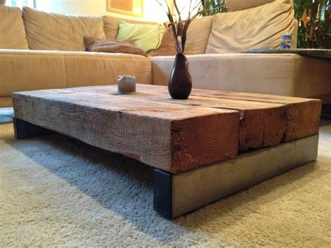 Tisch Aus Altem Holz by Wohnzimmertisch Aus Sehr Altem Holz Und Edelstahl
