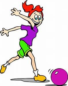 Girl Bowling Clip Art at Clker.com - vector clip art ...