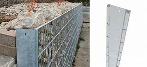 Gabionenkörbe Selber Bauen : gabionenzaunsysteme drahtgitterz une mit ~ Lizthompson.info Haus und Dekorationen