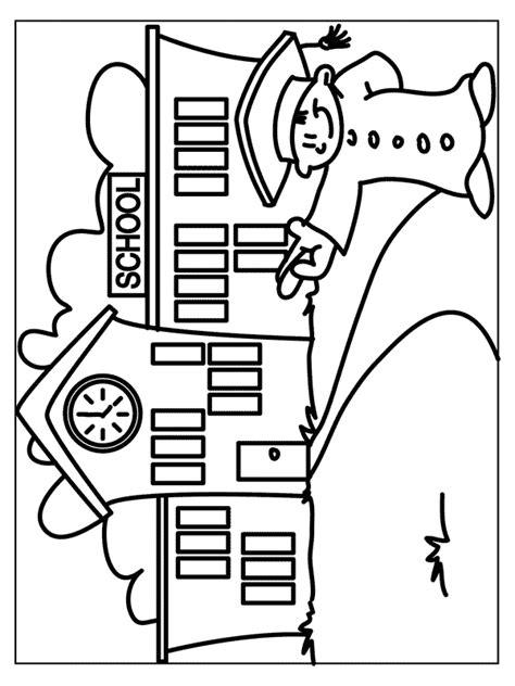 Www School Kleurplaten Nl by Kleurplaat Schoolgebouw Kleurplaten Nl