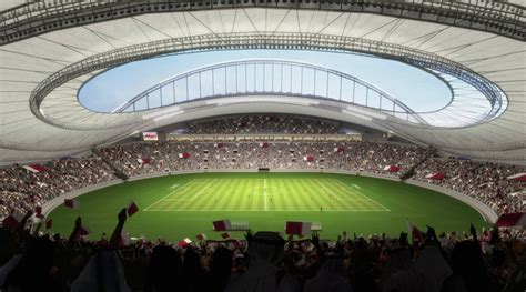 qatars latest world cup stadium  include air cooling