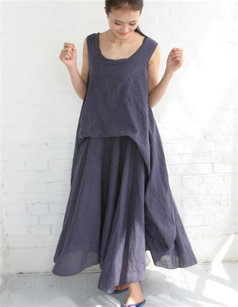Long Linen Dresses for Women