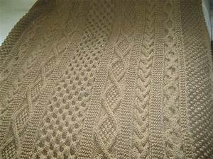 Aran afghan; Mary Maxim pattern | Knitting 4 - For the ...