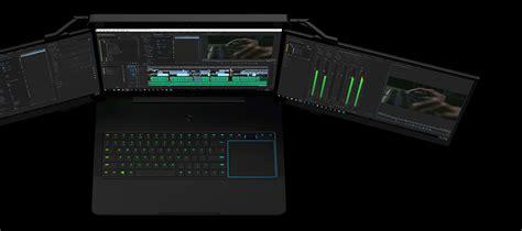 Razer Project Valerie - Triple Display Laptop