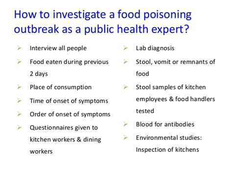 onset of food poisoning symptoms food poisoning a health perspective