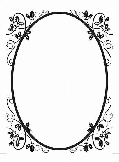 Oval Frame Vector Clipartpanda Border Clipart Flourish