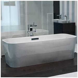 Frei Stehende Badewanne : bette art freistehende badewanne mit ab ein berlaufgarnitur megabad ~ Udekor.club Haus und Dekorationen