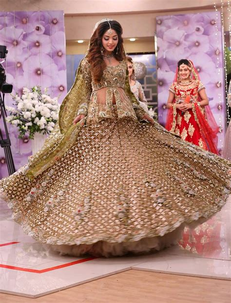 asian bridal wedding gowns designs 2018 2019 collection