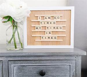 groopdealz wooden letter board With letter board wood
