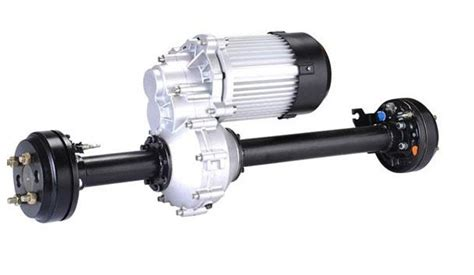 Electric Motor Axle by Transaxle For Bm1424hqf Rear Axle With Hydraulic Brake