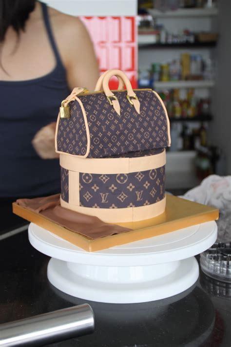 celebrate  cake louis vuitton bag cake
