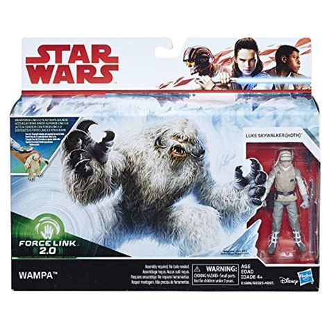 Star Wars Force Link 2.0 Wampa and Luke Skywalker (Hoth