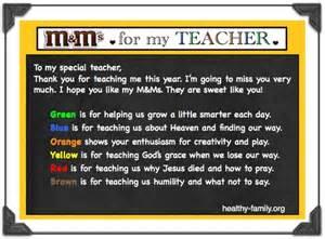 Christian Thank You Teacher Poems