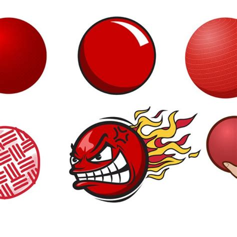 Dodgeball Clipart Free Vector Free Dodgeball Vector 30680 My Graphic Hunt