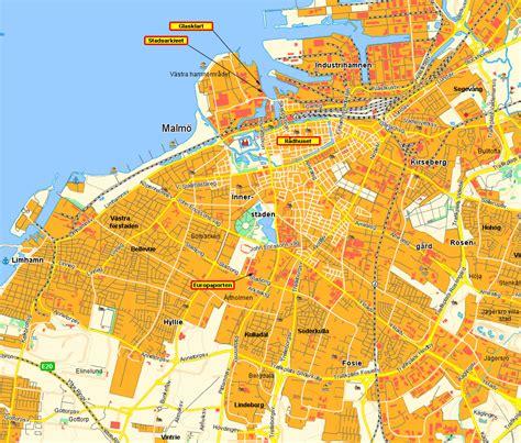 Malmö 2008 - Malmökarta