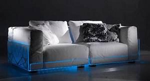 canape led eclaire par colico paperblog With tapis ethnique avec canapé led musique