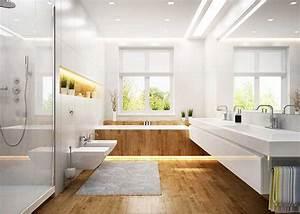 Sol Bois Salle De Bain : prix d 39 un parquet salle de bains ~ Premium-room.com Idées de Décoration