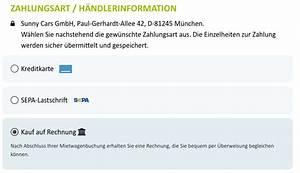 Kauf Auf Rechnung Erklärung : kauf auf rechnung sunny cars mietwagen neue zahlungsmethode ~ Themetempest.com Abrechnung