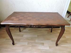 Table Basse Occasion : table basse merisier louis xv occasion clasf ~ Teatrodelosmanantiales.com Idées de Décoration