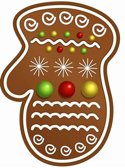 Cookie Gingerbread Clipart Clip Cookies Glove Transparent