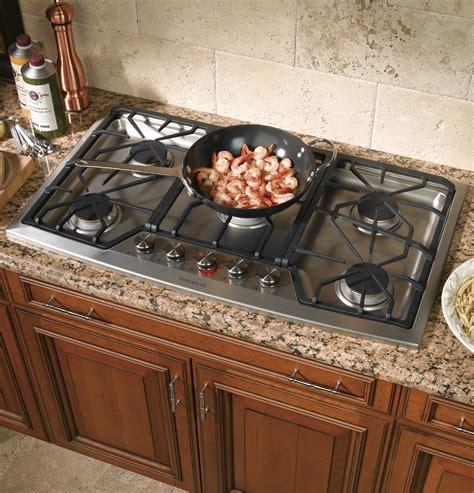 zgulsmss ge monogram  stainless steel gas cooktop liquid propane  monogram