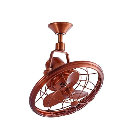 bentley ii ceiling fan home decorators collection bentley ii 18 in weathered