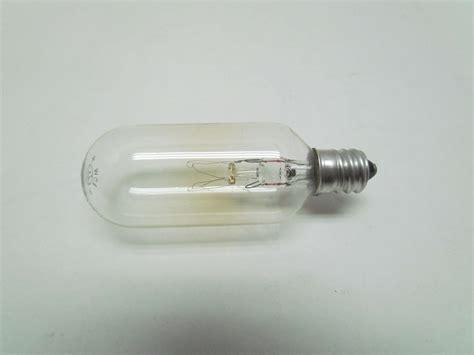 ge general electric 15t8c 120 v volt 15 w watt light bulb
