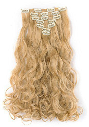Onedor 20 Curly Full Head Clip In Synthetic Hair
