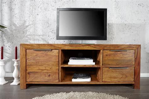 tv meubel sheesham hout tv meubel massief hout kopen meubeldeals nl