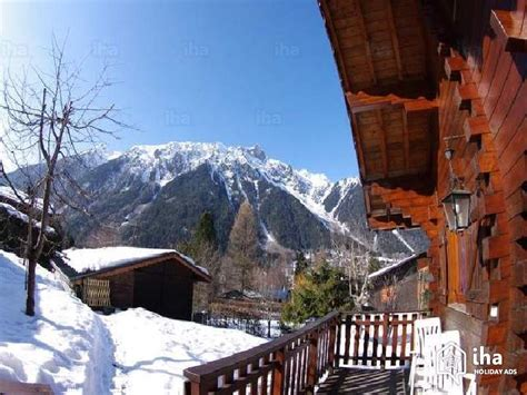 chalet for rent in chamonix mont blanc iha 62328