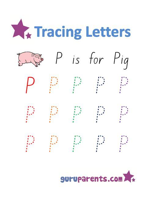 alphabet worksheets guruparents