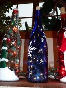 1000 images about DIY WINE BOTTLE with lights on
