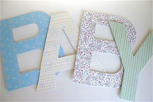 polkadot prints baby shower large letters With giant letters for baby shower