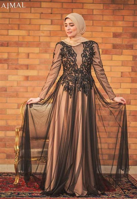 Evening-soiree-dress- Beautiful hijab evening dresses | Hijab | Pinterest | Beautiful hijab ...