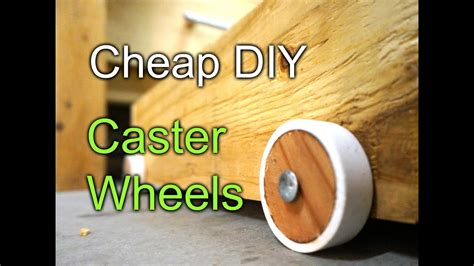cheap diy caster wheels workbench drawers youtube