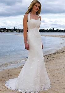 halter wedding dresses beach wedding inspiration trends With halter beach wedding dresses
