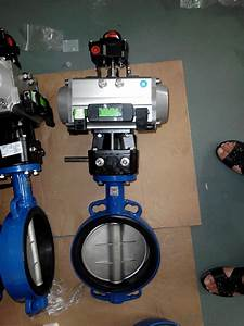 Ductile Iron Butterfly Valve Dn200 Real