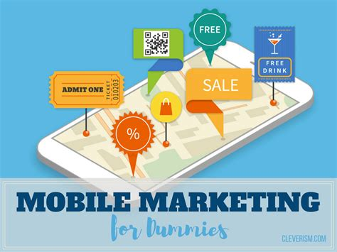 marketing for dummies mobile marketing for dummies