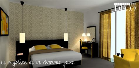 d馗oration chambre york chambre scandinave jaune
