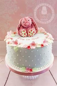 Vintage Pink Bunny - CakeCentral.com