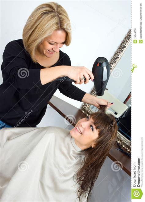 scene  hair salon stock photo image  hairdressing