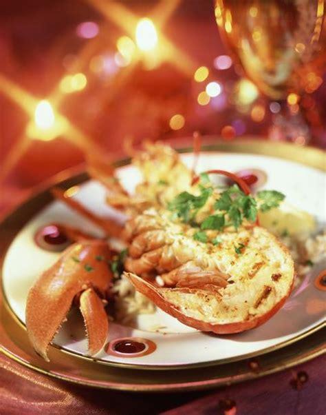 mytf1 recettes de cuisine recette de noël homard grillé de noël cuisine plurielles fr