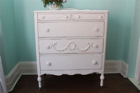 shabby chic white dresser custom order antique dresser shabby chic white distressed