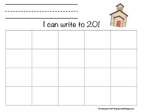 practice writing numbers 1 20 worksheet worksheets for all