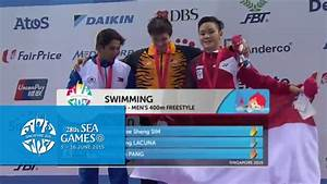 Swimming Men 400m Freestyle Victory Ceremony (Day 6 ...